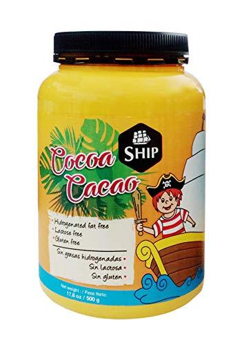 SHIP - Bote de Cacao 500 gramos - Cacao Natural - Endulza tu