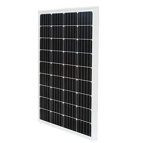 ECO-WORTHY 100w 単結晶 ソーラーパネル100W 太陽光発電 太陽電池モジュール【日本倉庫出荷 ソーラーパネル...
