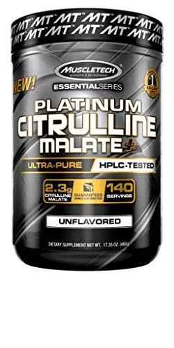 Muscletech Essential Series Citrulline Malate Powder 140 Servings, 17.35 oz