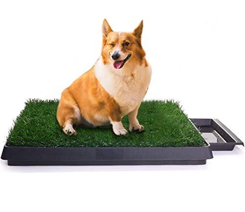 Sailnovo Inodoro para Mascotas Perro Césped Interior Orinal
