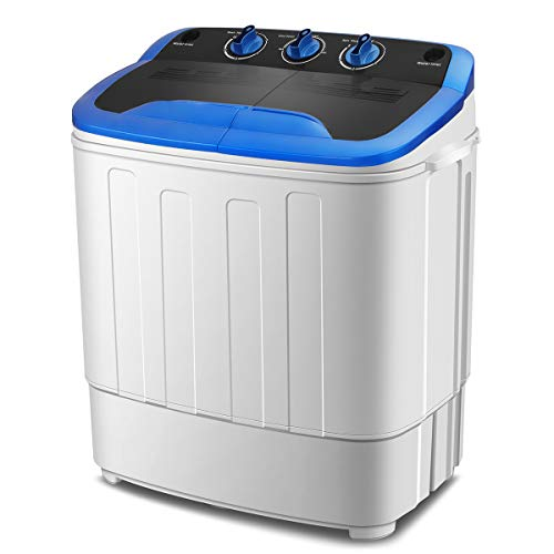 KUPPET Washing Machine, Portable Mini Compact Twin Tub...
