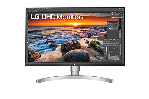"LG - Monitor 27UN83A-W UHD para diseño (Panel IPS: a 3840x2160, 350nit, 1000:1, sRGB >99%); diag. 68.4 cm (27""); entradas: HDMI x2, DP x1, USB-C x1, USB-A x2, Blanco"