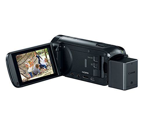 Product Image 6: Canon VIXIA HF R800 Portable Video Camera Camcorder with Audio Input(Microphone), 3.0-Inch Touch Panel LCD, Digic DV 4 Image Processor, 57x Advanced Zoom, and Full HD CMOS Sensor, Black
