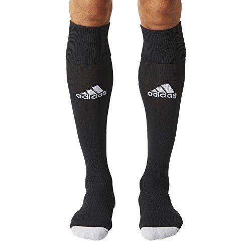 adidas Milano 16 Sock - Medias para hombre, multicolor ( NEGRO / BLANCO), talla 40-42 EU, 1 par