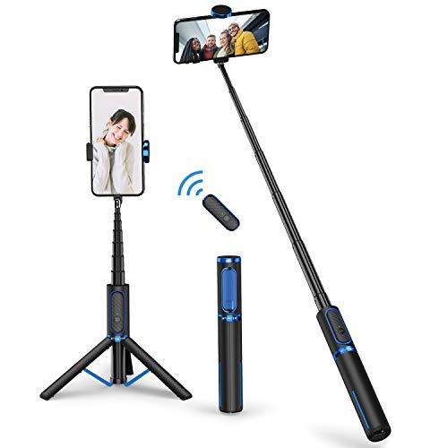 ATUMTEK Perche Selfie Bluetooth, Bâton de Selfie Stick Trépied Monopode...
