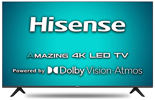 41GJF6FOHRS Hisense 108 cm (43 inches) 4K Extremely HD Sensible Licensed Android LED TV 43A71F (Black) (2020 Mannequin)   With Dolby Imaginative and prescient and ATMOS