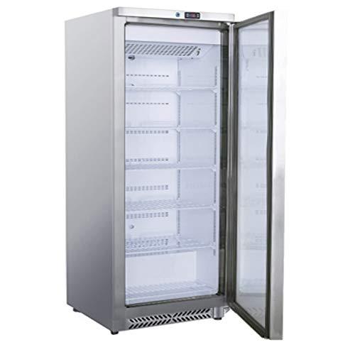 Frigorifero in acciaio inox, 600 litri, per frigorifero, freezer in acciaio inox, 775 x 720 x 1885...