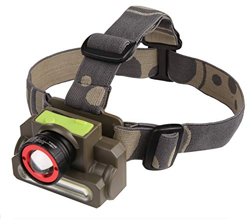 DOCOSS-2 in 1 Ultra Bright -Zoomable Waterproof Cree Rechargeable Headlamp Headlight Head Torch...