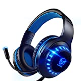 Pacrate Gaming Headset for PS4 PC Xbox One Headset with Microphone Noice Cancelling Stereo Surround...