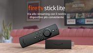 Fire TV Stick Lite, Ricondizionato Certificato | Con telecomando vocale Alexa Lite (senza comandi per la TV), modello 2020