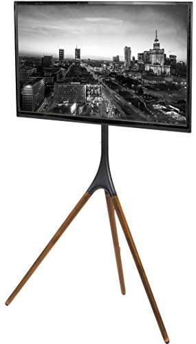 VIVO Artistic Easel 45 to 65 inch LED LCD Screen | Studio TV Display Stand | Adjustable TV Mount with Swivel and Tripod Base (STAND-TV65A)