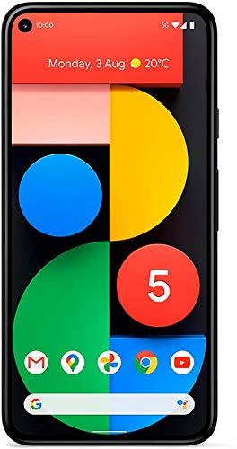 "Google Pixel 5 15,2 cm (6"") 8 GB 128 GB SIM única 5G USB Tipo C Negro 4000 mAh Pixel 5, 15,2 cm (6""), 1080 x 2340 Pixeles, 8 GB, 128 GB, 12,2 MP, Negro"