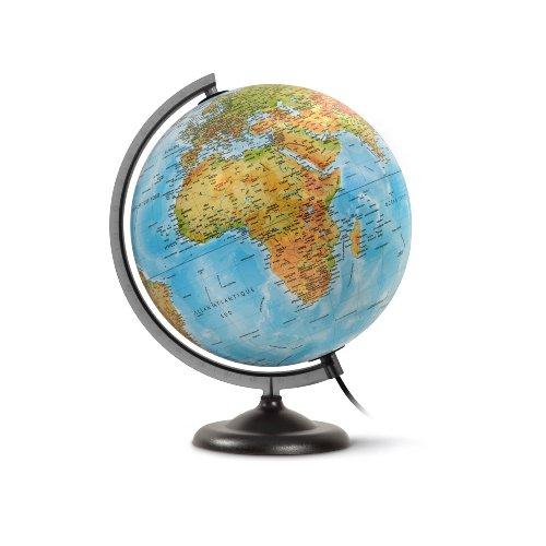 Jpc Créations WONDAY Globe en kit prêt à monter lumineux sphère 30 cm...