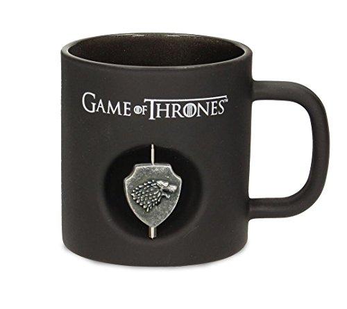 Taza 3D Games of Thrones - Logotipo de la Casa Stark