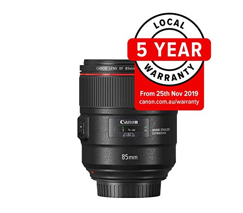 Canon single focus lens EF85 mm F1.8 °F1.4L is...