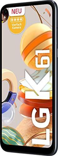 LG K61 - Smartphone 16.6 cm (6.53'), 4 GB, 128 GB, 48 MP, DS,...