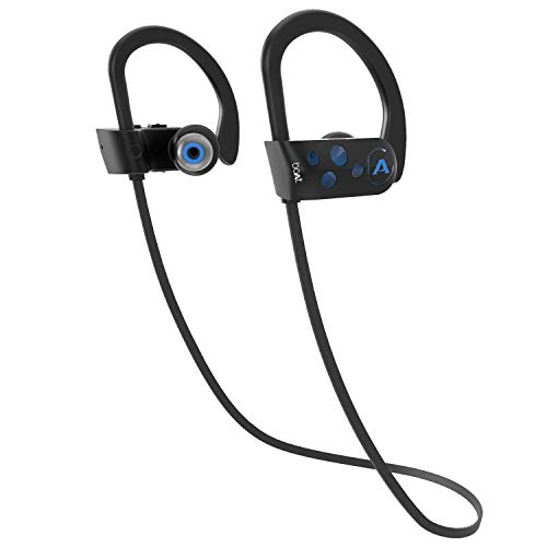 boAt Rockerz 261 Sports Wireless Earphones with IPX7 Water & Sweat Resistance, Up to 8H Immersive Audio, Qualcomm Chipset and Easy Access Integrated Controls (Jazzy Blue)