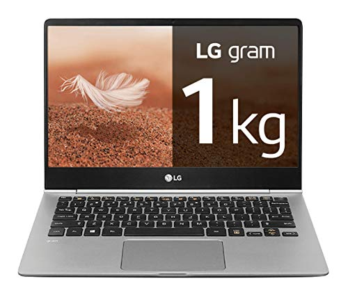 "LG gram 13Z990-G - Ordenador portátil ultrafino - 33.78 cm (13.3"") - FHD IPS (1 kg, autonomía 24.5 h, Intel i5 8ª generación, 8 GB RAM, 256 GB SSD, Windows 10 Home) Plata - Teclado QWERTY Español"