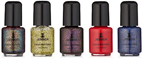 Jessica Candy Cane Manicure Set