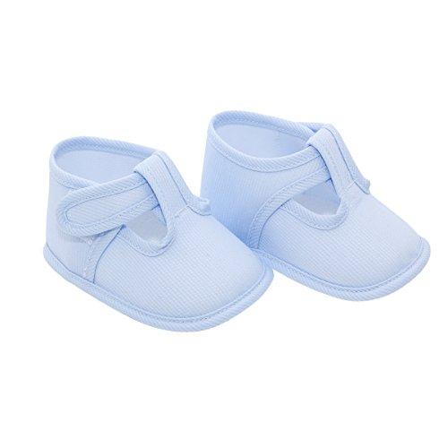 Cambrass Mod.113, Alpargatas Bebé-Niños, Azul (Celeste), 16 EU