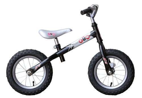 ZM SX Metal Balance Bike, Black/Grey