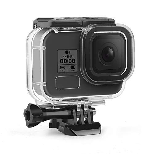SHOOT Custodia Impermeabile per GoPro Hero 8 Black, Custodia Immersioni Custodia protettiva di sostituzione per GoPro HERO 8,Impermeabile fino a 45M/147FT