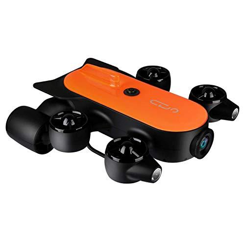 XIAOKEKE Robot Drone Subacqueo Professionale 150M / 100M con Telecomando per Action Cam 4K UHD, in Grado di Condurre L'esplorazione del Fondale in Tempo Reale per La Visualizzazione, La Registrazione
