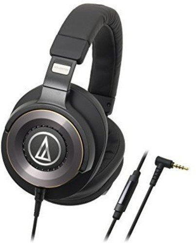 Audio-Technica ath-ws1100is Solid Bass–Auriculares de diadema con micrófono & Control