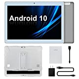 Tablet 10 inch, Android 10 Tablets, Octa Core Processor, Up to 1.8Ghz, 2GB RAM 32GB ROM, 10' IPS 1280x800 Display, 5MP Rear Camera, 2.4G&5G Wi-Fi, Bluetooth 4.2, 6000mAh Battery
