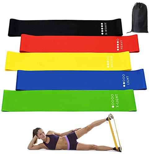 TOPJESS Elastici Fitness, Fasce Elastiche di Resistenza, Fasce Elastiche Fitness per Glutei,...