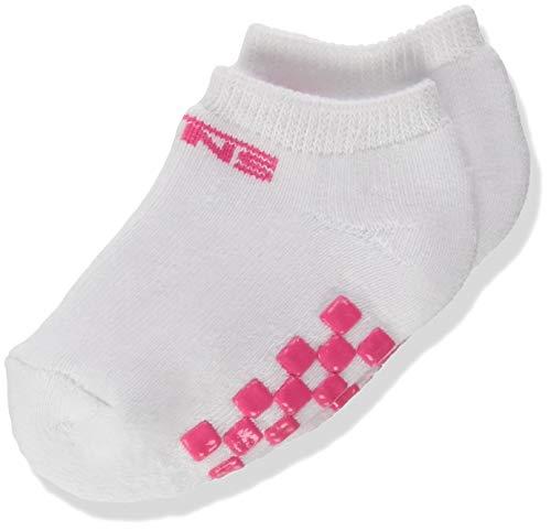 Vans Classic Kick Infant (0-12 MO, 1PK) Calzini, White-Pink, One Size Unisex-Bimbi