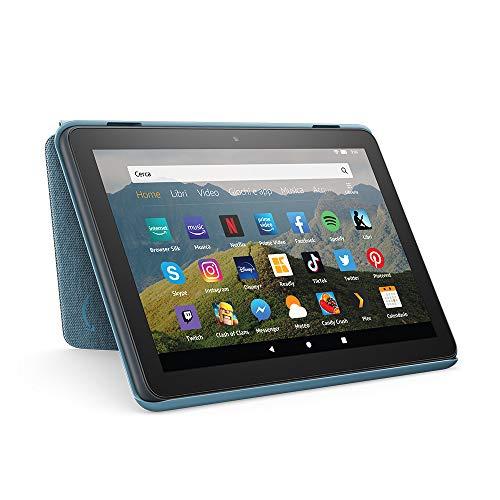 Custodia per tablet Amazon Fire HD 8 (compatibile con dispositivi di 10 generazione, modello 2020),...