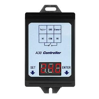 Staright Contrôleur de commutateur de relais de moniteur de dé de de détection de tension de DC 6~80V avec le cas