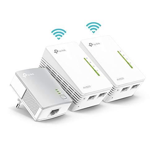 TP-Link TL-WPA4220T Kit Powerline WiFi, AV600 Mbps...