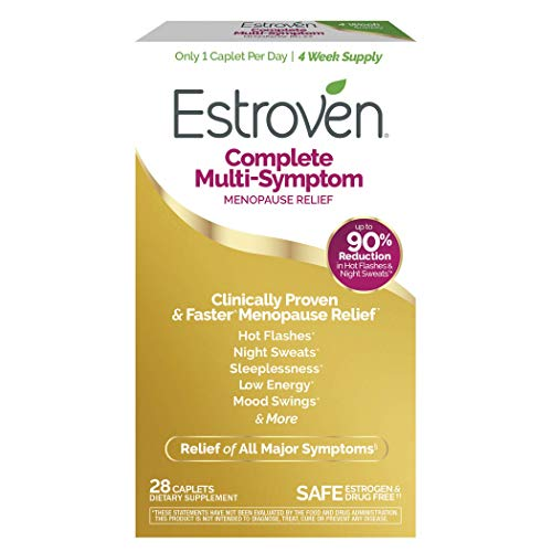 Estroven Complete Menopause Relief | All-In-One Menopause Relief* | Safe and Effective | Reduce Multiple Menopause Symptoms*1 | Reduces Hot Flashes and Night Sweats* | One Per Day | 28 Count 1