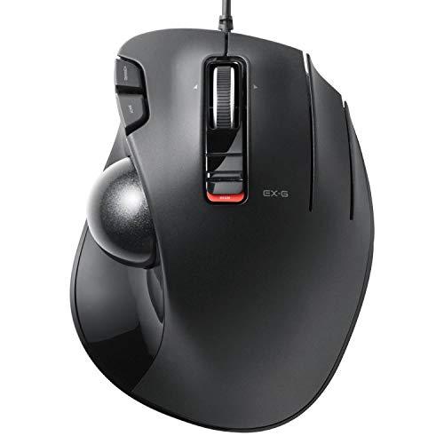 エレコム マウス 有線 トラックボール 6ボタン ブラック M-XT3URBK