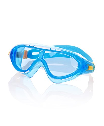 Speedo Kinder Biofuse Rift Junior Goggles, Blue/Orange, One Size