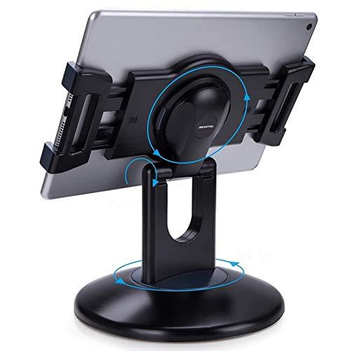 AboveTEK Retail Kiosk iPad Stand, 360° Rotating Commercial...