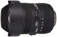 Sigma 204955 - Objetivo para Nikon (distancia focal 12-24 mm, apertura f/5.6, diámetro: 125 mm) negro
