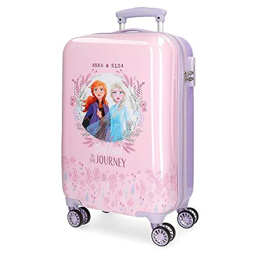 Disney Trolley Rigido Cabina 55M Frozen 2, Viola, 37x55x20