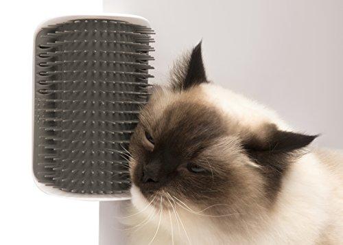 Cat Senses 2.0 Self Groomer Cat Brush – Interactive Cat Toys