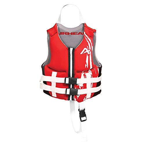 Airhead Children's SWOOSH Kwik-Dry Neolite Flex Life Vest Red, 10076-02-B-RD, Red-Child