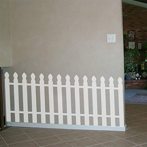 Large Picket Fence Wall Decal