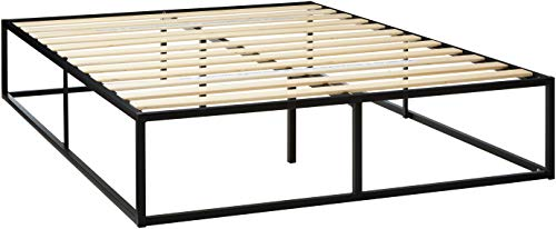 Zinus Joseph 14 Inch Metal Platforma Bed Frame / Mattress Foundation / Wood Slat Support / No Box Spring Needed / Sturdy Steel Structure, Queen
