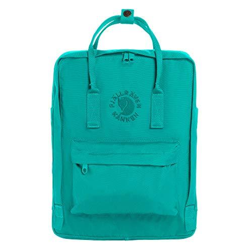 Fjallraven Re-Kånken Backpack, Unisex Adulto, Emerald, OneSize