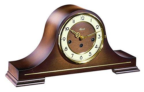 Hermle Uhrenmanufaktur Tischuhr, Holz, Braun
