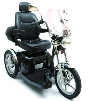 Pride Mobility SPORT RIDER Single Seat Trike 3-wheel Electric Power Scooter + FREE Challenger Vinyl Custom Cover