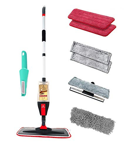 Floor Spray Mop Kit with 4 in-1 Function