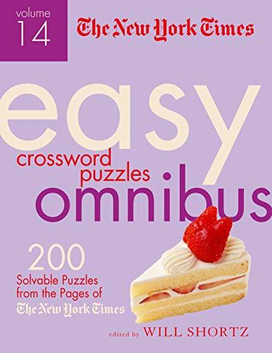 New York Times Easy Crossword Puzzle Omnibus Volume 14