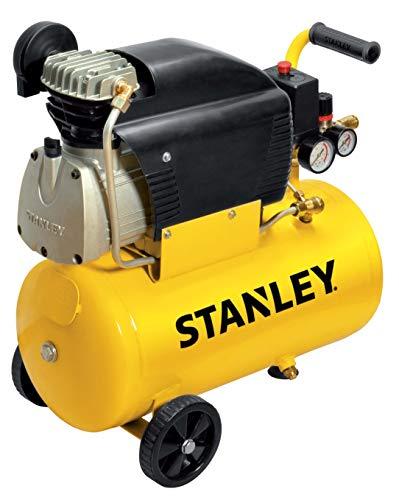 Stanley D211/8/24 Compresseur 24 litres 2 HP, Jaune, 24 kg
